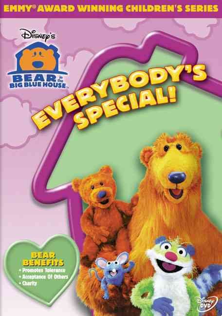 BEAR IN THE BIG BLUE HOUSE:EVERYBODY' BY BEAR IN THE BIG BLUE (DVD)